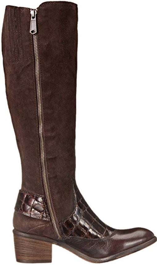 Donald J J J Pliner damen Dulce Dark braun Chestnut Riding Stiefel Sz 8 M 8023 4f6e0a