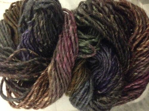 1 Sk Noro SIlk Garden Silk//Kid Mohair//Lambswool Self Striping Yarn 82A Vtg//Rare