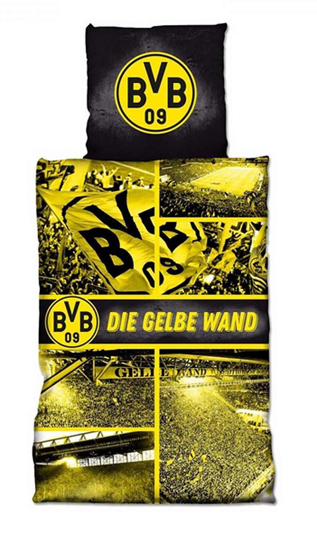 Bvb Borussia Dortmund Bettwäsche Gelbe Wand Südtribüne Bettwäsche
