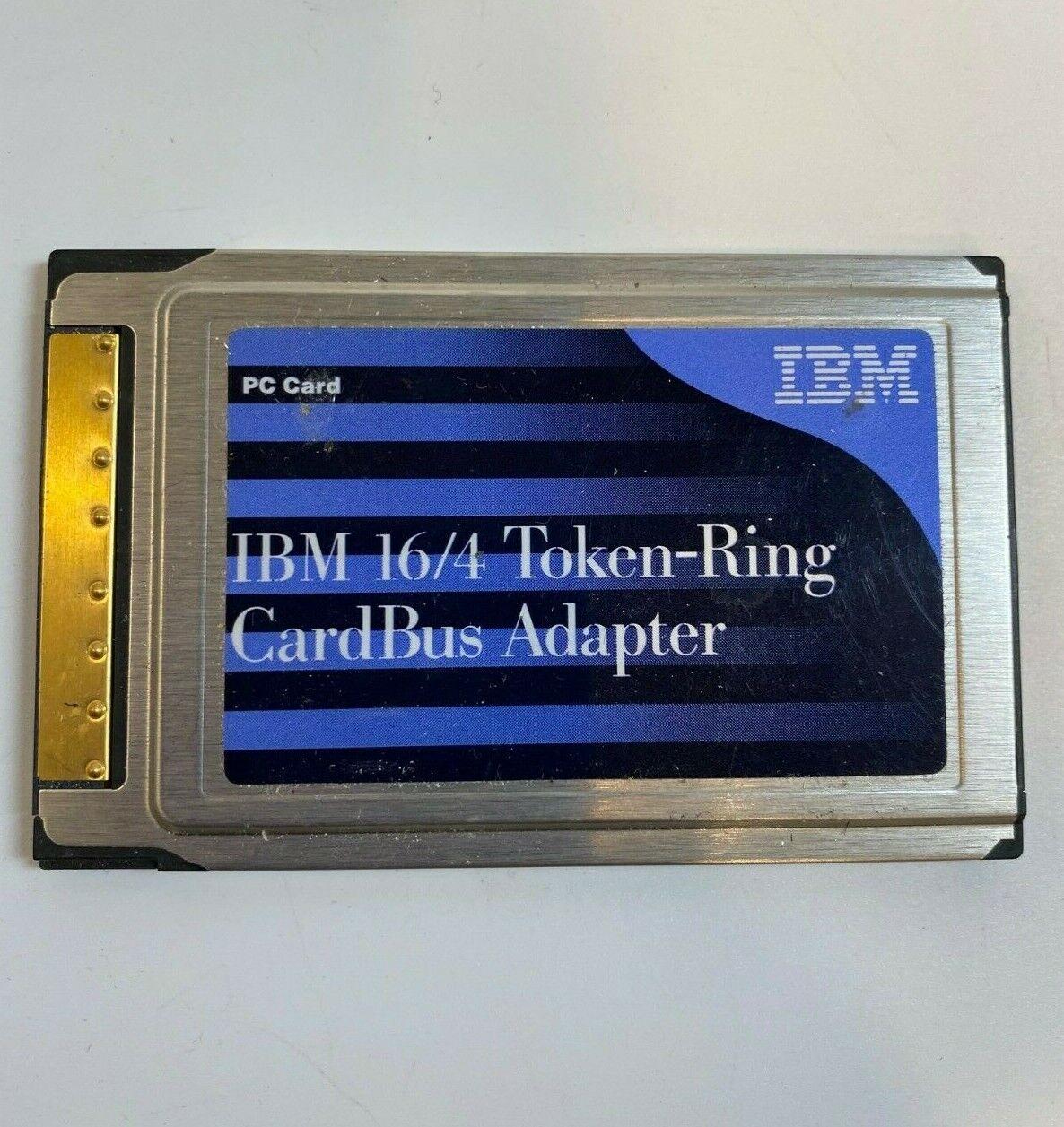 IBM Token Ring 16/4 Cardbus Adapter P/N 34L4899