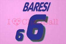 Baresi #6 1994 World Cup Italy Awaykit Nameset Printing