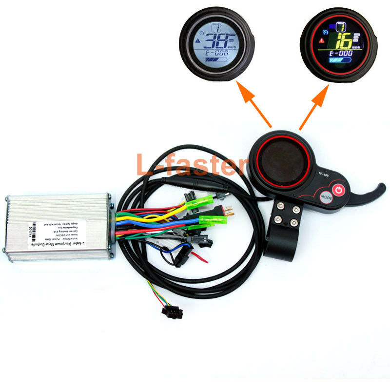 250 350W Electric Scooter LCD Display And Thumb Thredtle Electric Brushless Hub
