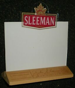 MENU HOLDER STAND DISPLAY CAFE BAR RESTAURANT SLEEMAN X TABLE - Restaurant table tents and menu sign displays