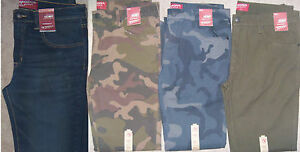 NEW Mens Arizona Jeans Co Extra Slim Skinny Jeans Camo or Solid