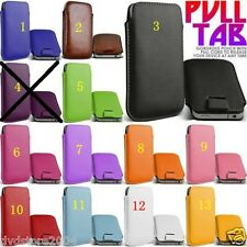 Pellicola+Custodia LEATHER POUCH pr Samsung i8190 s3 MINI Galaxy COVER CASE (H4)