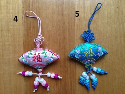 Home Car Decor Feng Shui Chinese Knot Charm Tassels Silk Luck Knot Gift Idea