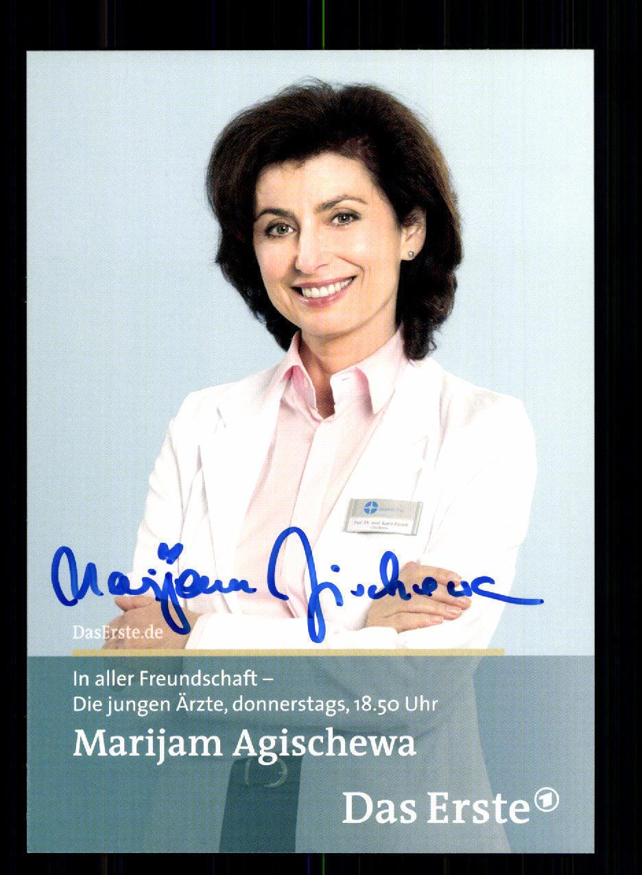 signiert 1330 Andrea Kathrin Loewig In aller Freundschaft Autogrammkarte orig