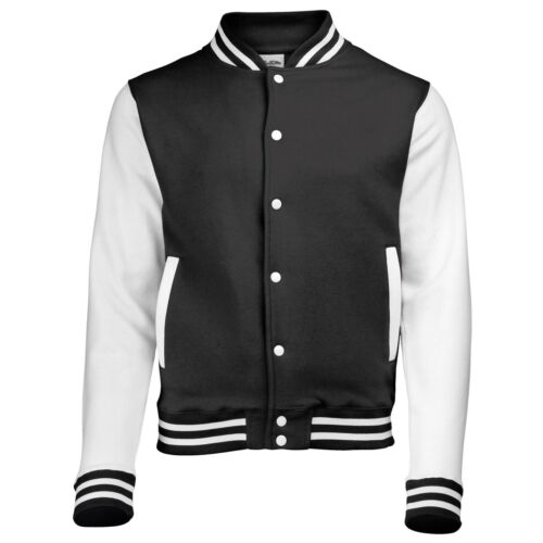 Custom Your Text Personalised JH043 AWDis AWD is Hoods Varsity jacket outerwear
