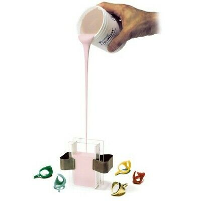 Ready Cut Jewelry Molding Wax No Shrink 10 PCS Castaldo Mold Rubber Pink