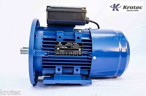 Electric-motor-single-phase-240v-0-75kw-1hp-1410rpm-B35