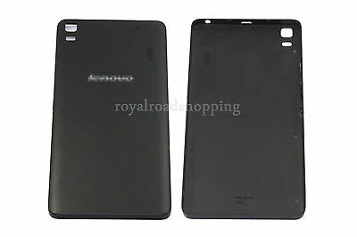 Black Replacement Battery Back Cover Case + Side Buttons For Lenovo K3 Note K50