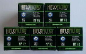 Honda-XL350-1985-To-1987-Hiflofiltro-OE-Filtre-a-Huile-de-Qualite-Hf112-Pack