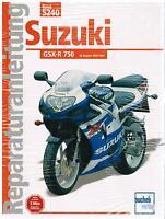 Buch Reparaturanleitung Suzuki GSX-R 750 / GSX-R750 ab Bj. 2000/2001 Band 5240