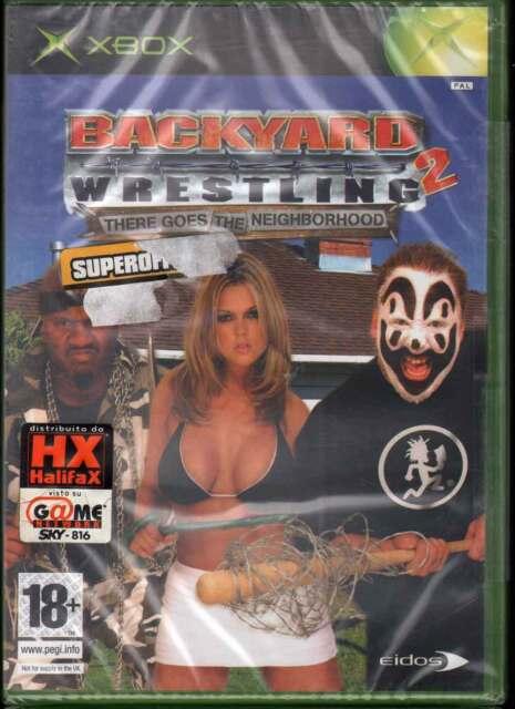 Backyard: Wrestling 2 Videogioco Xbox Sigillato 5032921021623 - Backyard Wrestling 2 Videogioco Xbox SIGILLATO 5032921021623 EBay