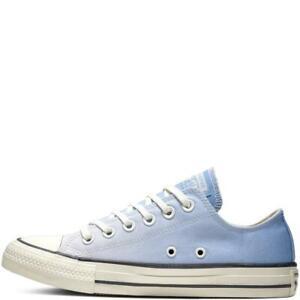 Star Ombre Wash Low Top Blue Women's UK