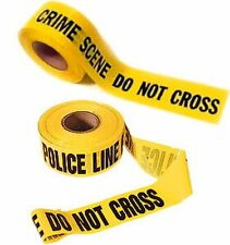 Bande de Police comme vu dans séries US rubalise crime scene police tape