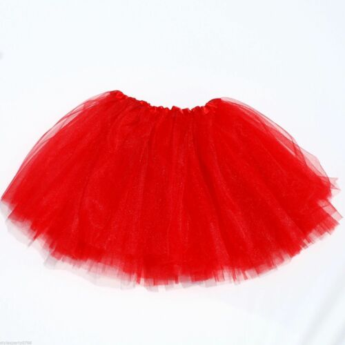 Tütü tul falda balletkleid 3 lagen chicas fiesta infantil carnaval tutu rojo