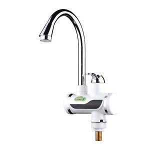 Einhandmischer-Wasserhahn-Kuechearmatur-Digital-LED-Display-Waschtischarmatur