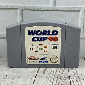 Copa del Mundo 98 (PAL) Nintendo 64 (N64)