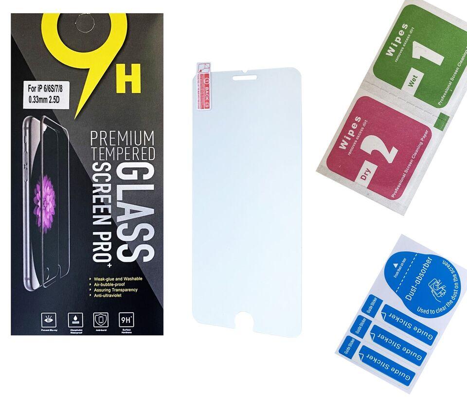 Skærmbeskyttelse, t. iPhone, 3 stk. FRIT VALG
