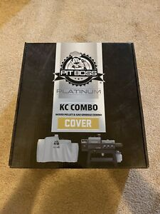 Wood Pellet//Gas Griddle 73301 Pit Boss Platinum KC Combo Grill Cover
