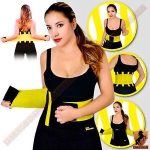 2e8bd24066 Womens Mens Xtreme Slimming Belt Waist Hot Power Body Shaper Fitness ...