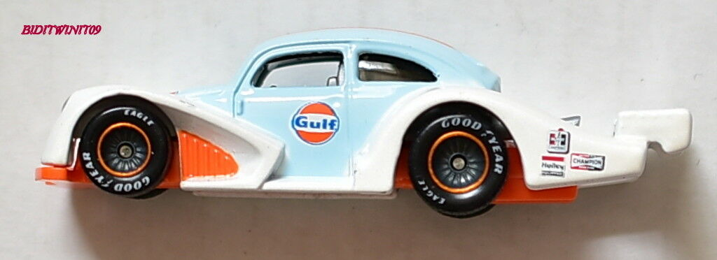 Hot Wheels Giocattolo Fair Gulf 2018 Volkswagen Kafer Racer Real Rider Sciolto