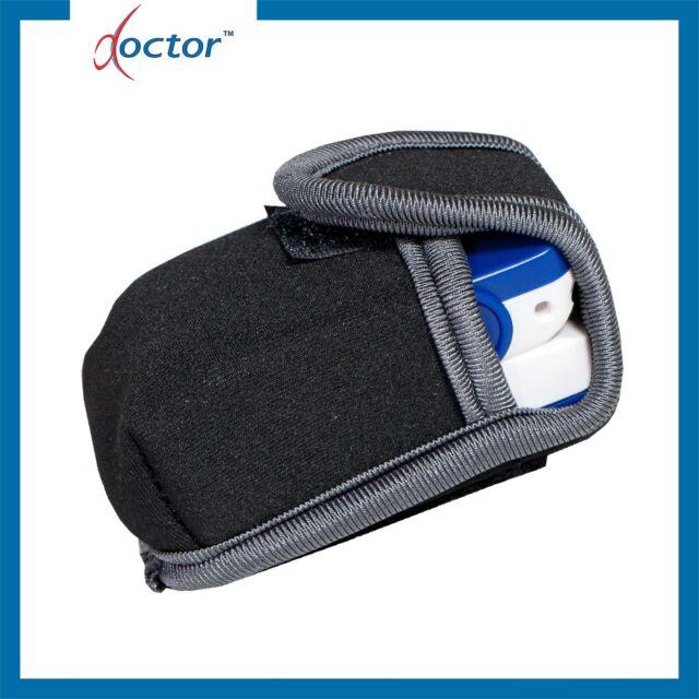 Custodia per saturimetro da dito con velcro - Pouch pulsossimetro ossimetro