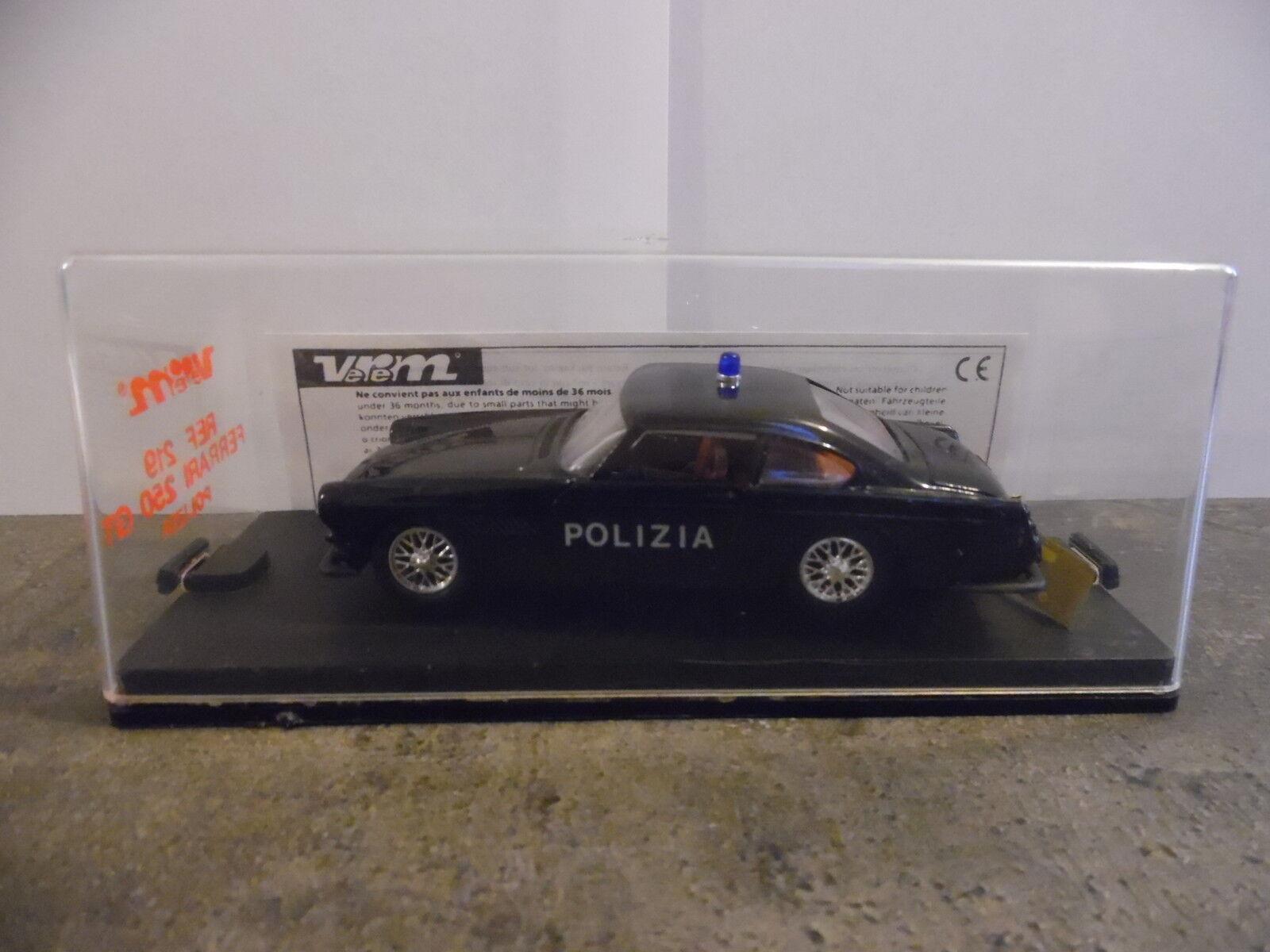1 43ème VEREM Ref. 219 – Ferrari 250 GT Polizia