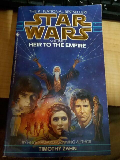 Star Wars Heir to the Empire volume one 1991 Timothy zahn bantam spectra books