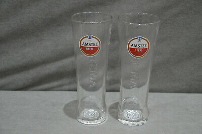 2 San Miguel Chalice Pint To Brim Toughened Glass Goblet 20oz New M18 Pair Of