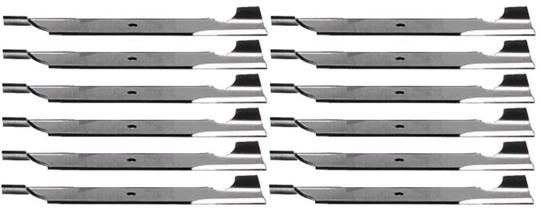 12 rojoatorio Resistente Alta Elevación 2173 Blades para uso Bad Boy 54  Corte Th 18  Hojas