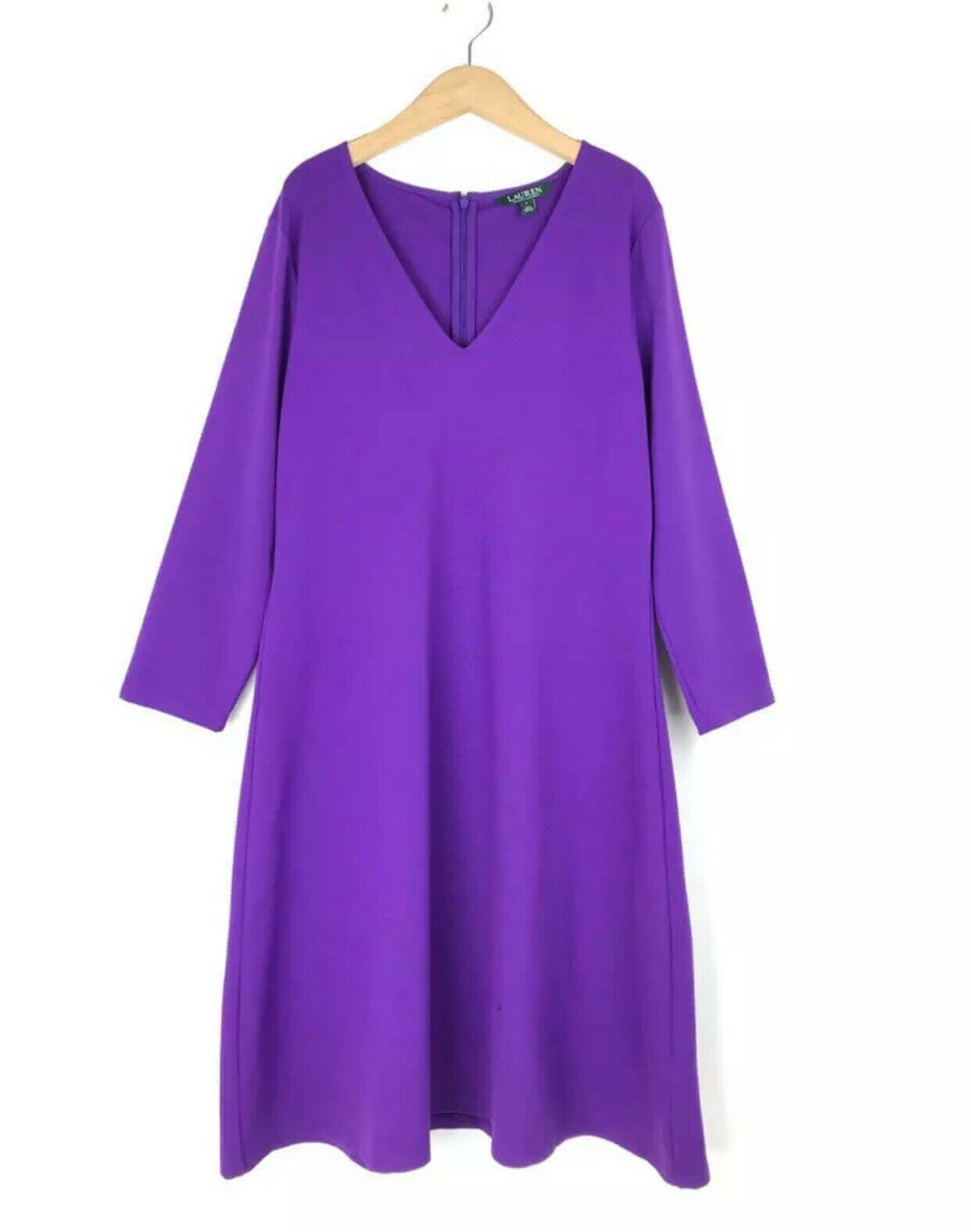 BNWT Lauren Ralph Lauren Stunning Purple Dress Size M BNWT RRP