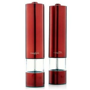 Wolfgang-Puck-2-pack-Stainless-Steel-Battery-Power-Grinding-Mills-Various-Colors