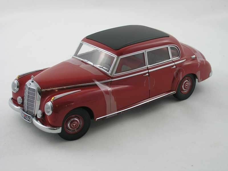 NOREV Mercedes Benz 300 W186 Dark Red (DEALER EDITION) 1 18 Hard to find