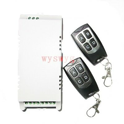 AC85V - 250V 4Channel Wireless Control RF Remote control 315M Switch 110V 220V