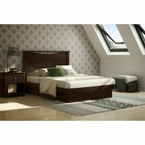 South-Shore-Basic-Full-Platform-Bed-in-Chocolate