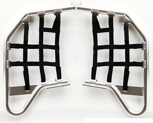 PAIRE-DE-Nerf-Bar-QUAD-ALUMINIUM-Silvertech-pour-HONDA-TRX-450