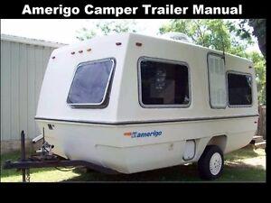 amerigo trailer rv owners operations manuals 310pgs for camper rh ebay com Travel Trailer Repair Guide Travel Trailer Wall Repair