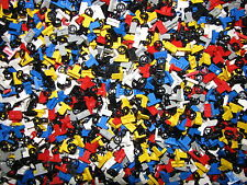 LEGO BULK LOT OF 100 CAR STEERING WHEELS RED BLUE BLACK TRUCK VEHICLE PARTS