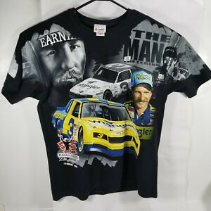 Dale-Earnhardt-Jr-Sr-2010-Double-Sided-Nascar-T-shirt-Chase-Authentics-Size-XL