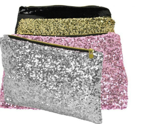Sequin Fabric Sparkly Shiny Bling Cloth Craft Dress Wedding Material 130cm Wide