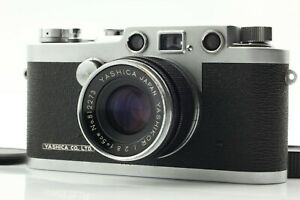 CIA-wuerde-EXC-5-Yashica-YE-Entfernungsmesser-Filmkamera-mit-50mm-f-2-8-l39-LTM-Japan