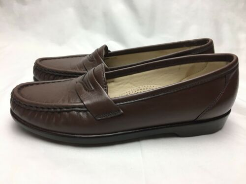 5 Size 6 Shoes Penny Usa Leather In Brown Sas Comfort Women's Loafer Tripad Made g8wYYq