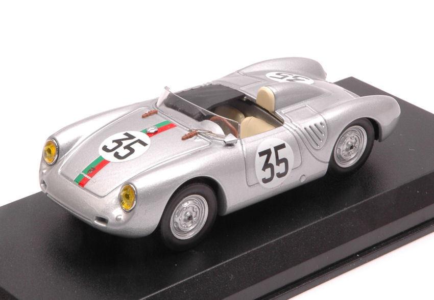 se descuenta Porsche 550 Rs  35 19th 19th 19th Lm 1959 J. Kerguen   R. Lacaze 1 43 Model BEST MODELS  venta al por mayor barato