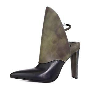 Women Wang Lys Alexander Eur Black 37 Sz Leather 2783 Olive 5 Highcut Bootie 0wFSFUq