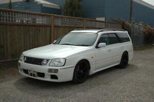 Jdm 1998 Nissan Stagea Station Wagon Rb25det Automatic