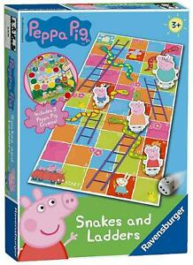 Peppa-Pig-Snakes-And-Ladders-Game-Ravensburger-Preschool-Kids-Game-Toy
