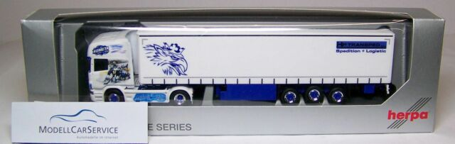 "Herpa Sondermodell: 914574 Scania R TL Plan de Cortina - Trailer"" HC Kometa Brno"