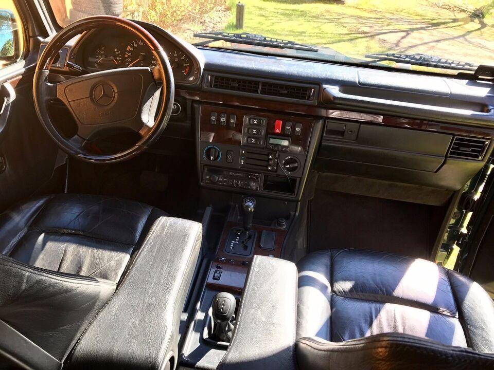 Mercedes G300 3,0 TD Geländewagen Diesel aut. modelår 1997